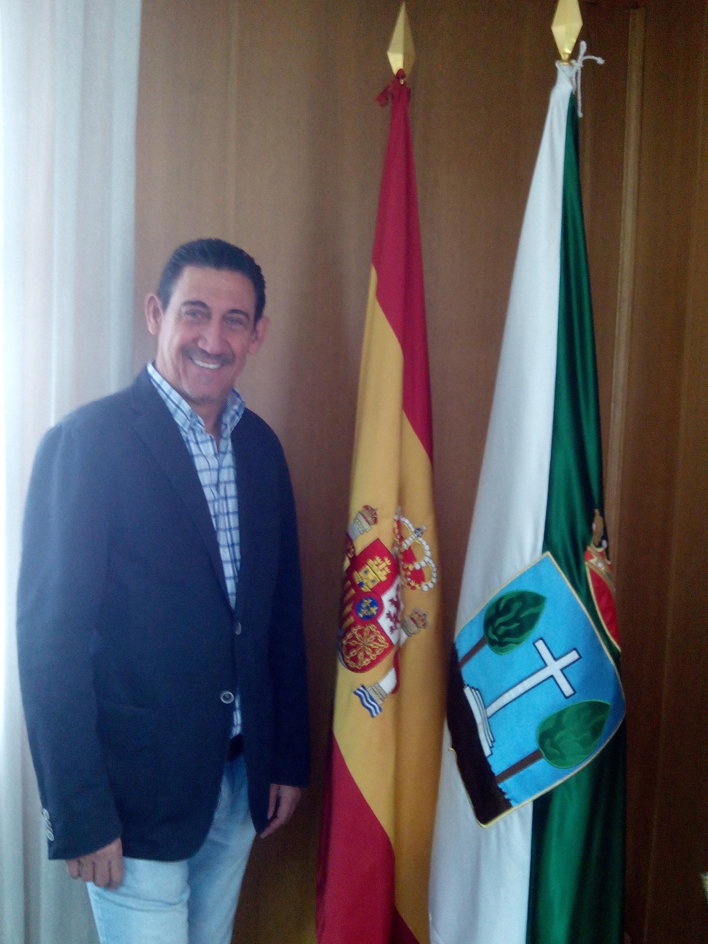 D. Emeterio Pérez Gaitán. Concejal de Transportes