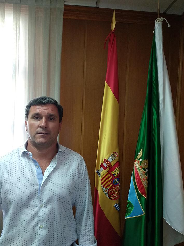 D. Valentín Maestro Benito. Concejal de Obras y Medio Ambiente.