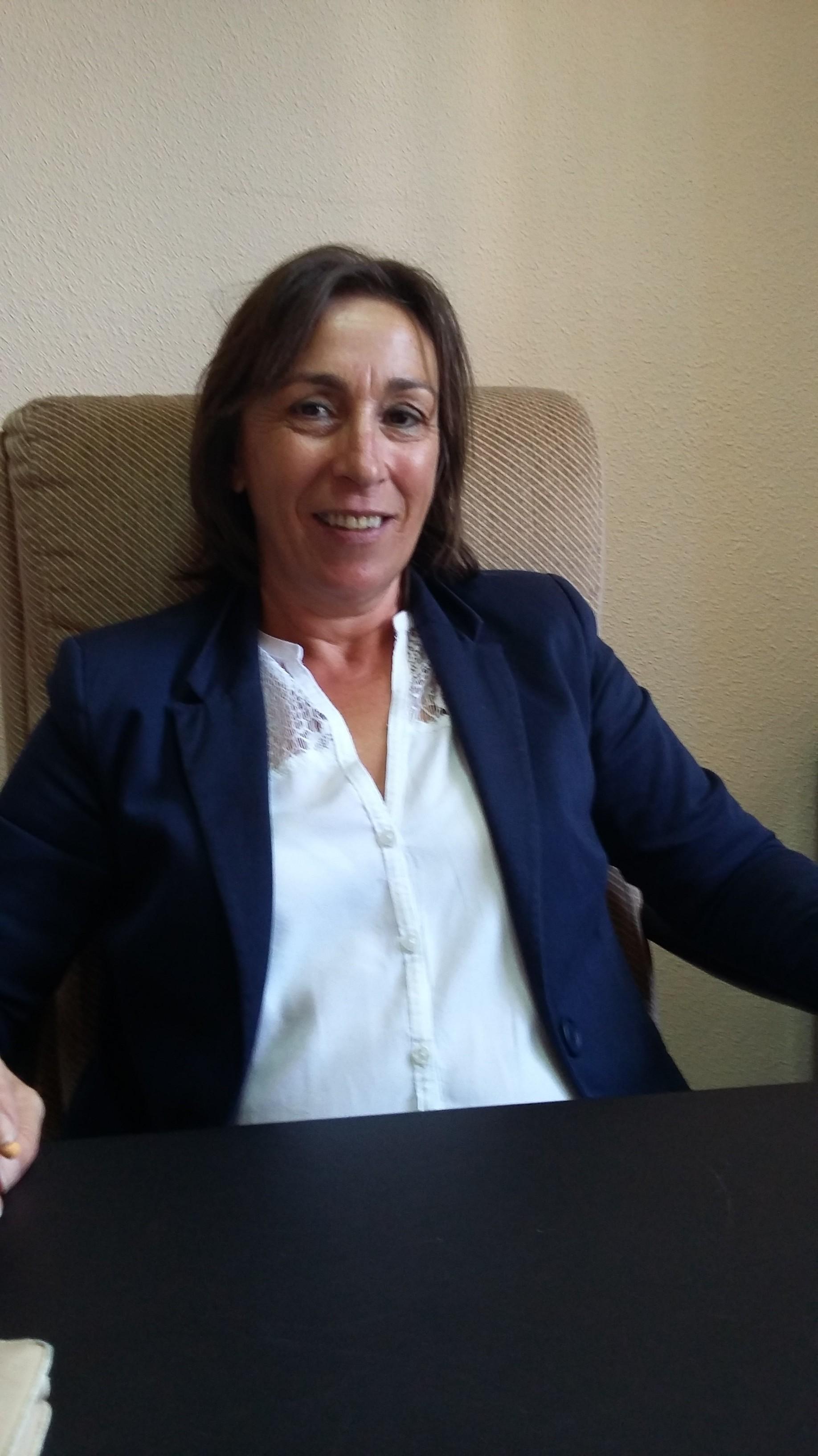 Dª Mª Carmen Mercado Ollero. Concejal de Parques y Jardines.