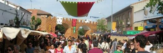 mercado medieval el alamo