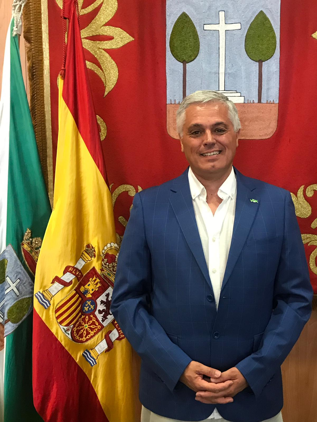 D. Antonio Gómez Molina. Concejal de Seguridad Ciudadana y protección Civil